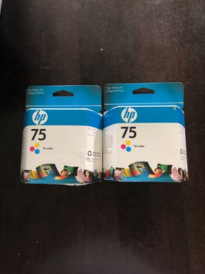 Hp 75 Tri-color ink for Sale in Port Hueneme, CA
