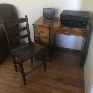 Nice Small Hardwood Desk for Sale in High Point, NC