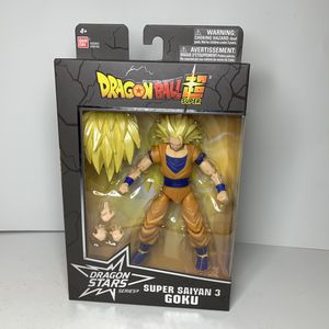 NEW Dragon Ball Z Super Saiyan 3 Goku Action Figure Toy Dragonballz Japanese Anime Cartoon Video Game Character for Sale in Trenton, NJ