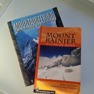 Mount Rainier/Mountaineering Book Set for Sale in Olympia, WA