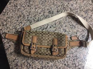 Signature Coach Waist Bag for Sale in Forestville, MD
