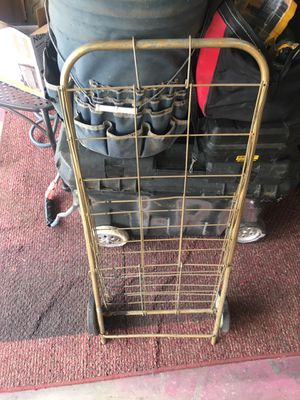 Foldable rolling cart for Sale in Fresno, CA