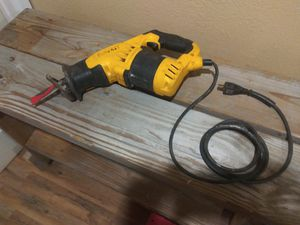 Dewault Reciprocating Saw for Sale in Midland, TX