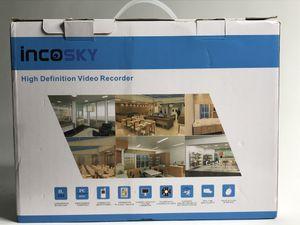 Security Camera incoSKY Home Camera Security System 8CH 1080P HDMI CCTV AHD TVI DVR 4 x 3000TVL 2.0MP Bullet Cameras for Home Monitoring CCTV Surveill for Sale in Orlando, FL