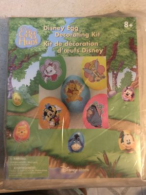 Brand New Disney Store Egg Decorating Kit - pickup in Aiea - I DON'T DELIVER for Sale in Aiea, HI