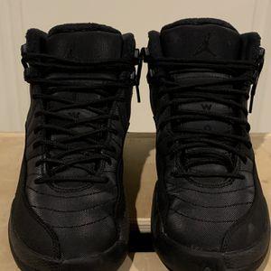 Jordan 12 Triple Black 'Winterized' Clean for Sale in Itasca, IL