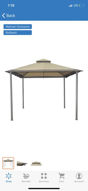 Patio Tent Canopy Backyard Sunshade 10' x 10' Gazebo Outdoor Shelter Party Shade for Sale in Phoenix, AZ