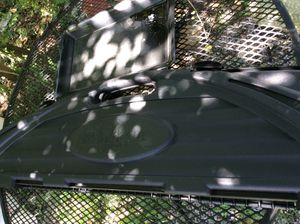 PLASTIC, hard plastic TRAY, 52 inches long by 12 1/2 wide, USED , Maryville meet, $25.00 CP for Sale in Maryville, TN