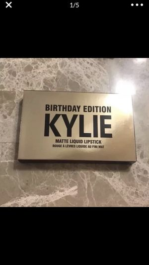 Kylie Jenner mini mattes birthday edition for Sale in Silver Spring, MD
