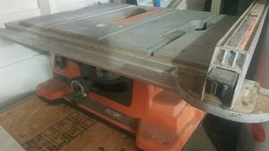 Rigid table saw for Sale in Chicago, IL