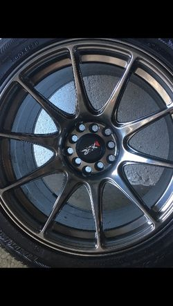 "17"" Black Chrome New xxr 5x114 for Sale in University Place,  WA"