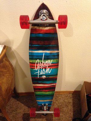 Arbor fish longboard for Sale in Spokane, WA