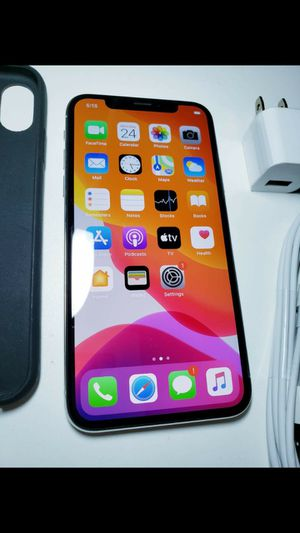 Apple iPhone X 256gb silver unlocked 🌟 for Sale in Lexington, KY