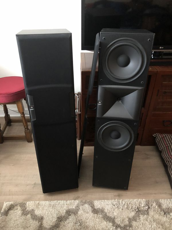 JBL Tower Speakers & Polk Subwoofer