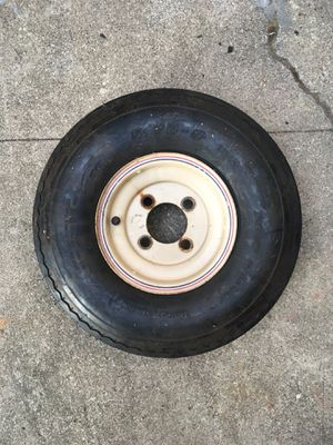 Pop up camper trailer tire and rim for Sale in Vallejo, CA