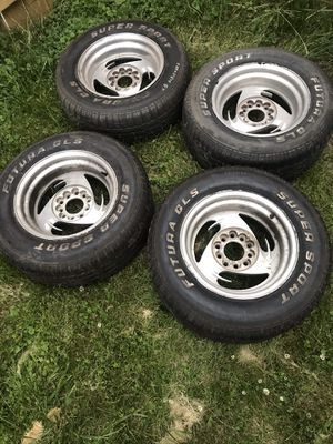 245/60/15 Tires and rims for Sale in Stone Park, IL