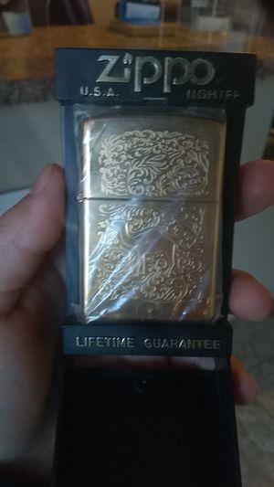 Camel Zippo Lighter 1995 22k gold plated for Sale in Phoenix, AZ