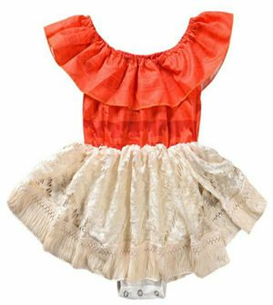 Moana Baby Girl's Dress Costume Sz 24 Mos NEW for Sale in Lorain, OH
