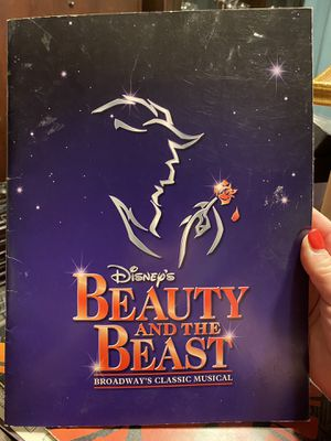 Beauty and the Beast Broadway Musical souvenir brochure. $30 for Sale in Tampa, FL