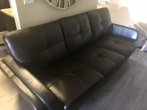 100% Leather Sofas & Futon for Sale in Palm Beach Gardens, FL