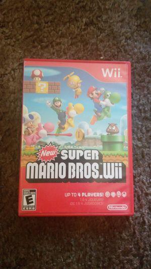 Super Mario Bros Nintendo Wii Video Game for Sale in Carson, CA
