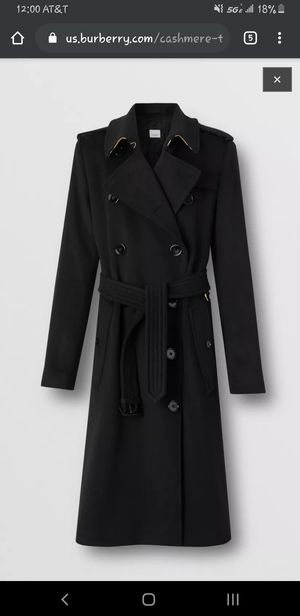 BURBERRY : The Eastheath cashmere trench coat for Sale in Kirkland, WA