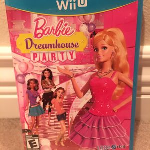 Wii U Barbie Dream house Party for Sale in Kent, WA