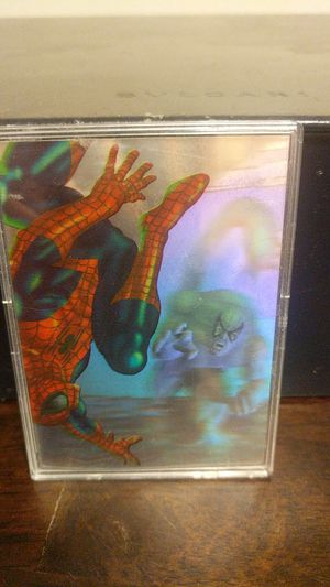Limited Edition Fleer Ultra Spider-Man HoloBlast 3 of 6 for Sale in Canoga Park, CA