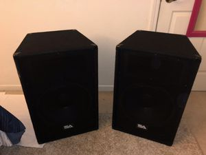 "Seismic Audio - Pair of 15"" PA DJ Speakers (700 Watts, PRO Audio) for Sale in San Jose, CA"