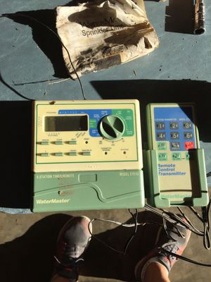 Water master 6station sprinkler timer for Sale in Seattle, WA