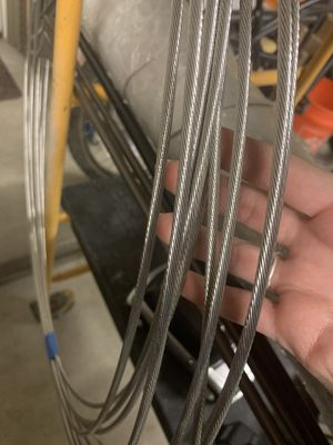 """35 feet of 3/16"""" stainless steel cable for Sale in Phoenix, AZ"""