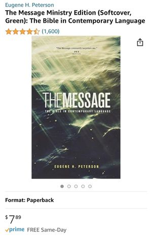 The Message Bible for Sale in Portland, OR