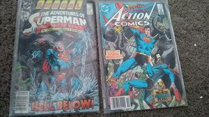 Adventures of Superman annual #1 and action comics #572 for Sale in Poway, CA