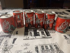 Assorted collection of Coca Cola cans for Sale in Hayward, CA