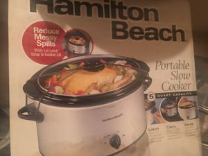 Hamilton Beach Slow Cooker for Sale in Cleveland, OH