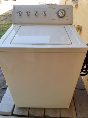 Nice Whirlpool Washer and Electric Dryer Works Excellent for Sale in Phoenix, AZ