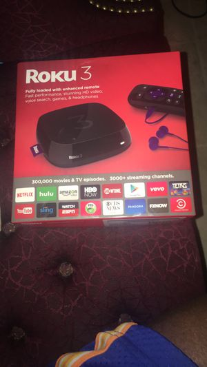 Roku 3 for Sale in St. Louis, MO