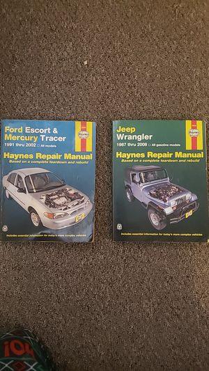 Haynes repair manual for Sale in Pueblo, CO