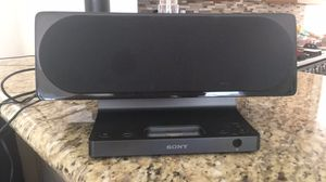 Sony speaker with iPod deck for Sale in Vista, CA