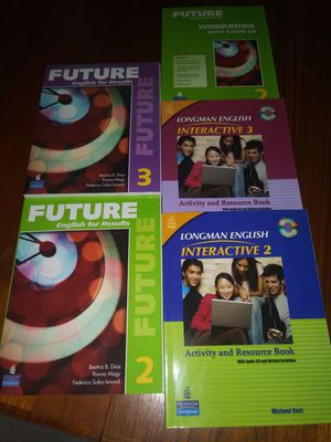 Libros para aprender Ingles con sus CD. for Sale in Miami, FL