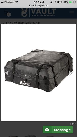 Vault Rooftop Storage Bag for Car or SUV for Sale in Madison, WI