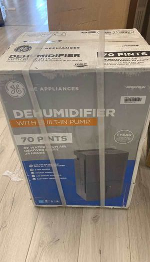 Open box GE Dehumidifier LW for Sale in Chino, CA