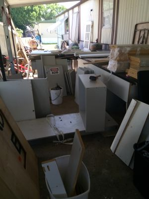Kitchen cabinets three 15 foot counter top for Sale in Auburndale, FL
