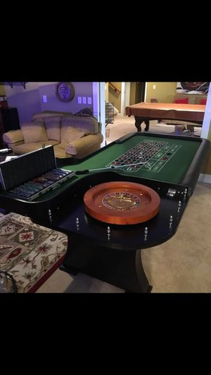 8 ft new roulette table. for Sale for sale  Canton, GA