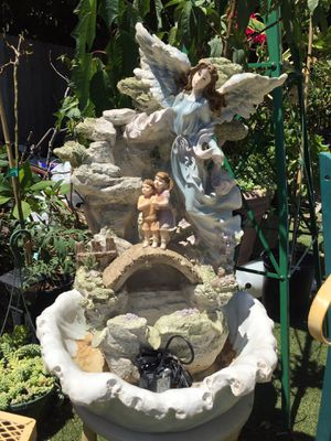 Beautiful angel fountain for Sale in Santa Ana, CA