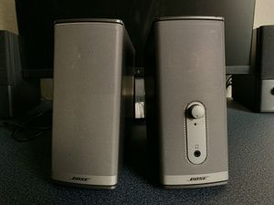 Bose Companion 2 Series II Multimedia Speakers for Sale in Pacifica, CA