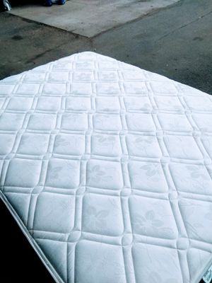 Queen-size Orthopedic Firm Mattress with Box-spring $120. Free Delivery. for Sale in Denver, CO