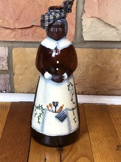 Vintage Mrs. Butterworth/Hand Painted Folk Art/Hand Soap/Syrup Bottle for Sale in French Creek,  WV