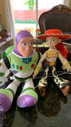 TOY STORY. Buzz. & Jesse stuffed animals toys for Sale in Coral Springs, FL