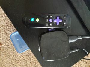 Roku 3 device and remote for 20$ for Sale in Sandy Springs, GA